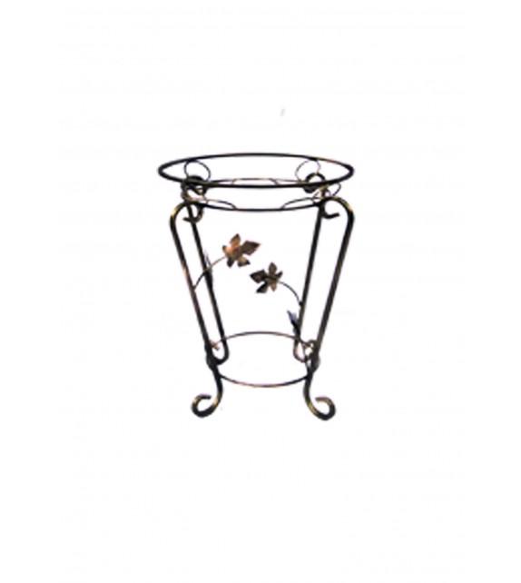 Kovácsoltvas virágtartó C-010