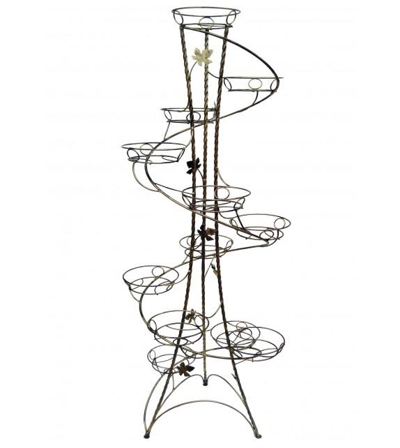 Kovácsoltvas virágállvány 12 W-017