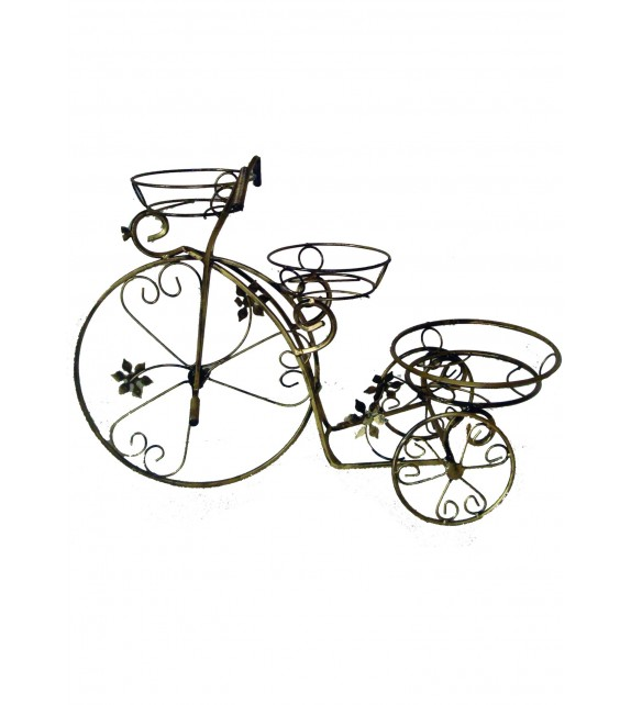 Kovácsoltvas virágtartó kerékpár C-033