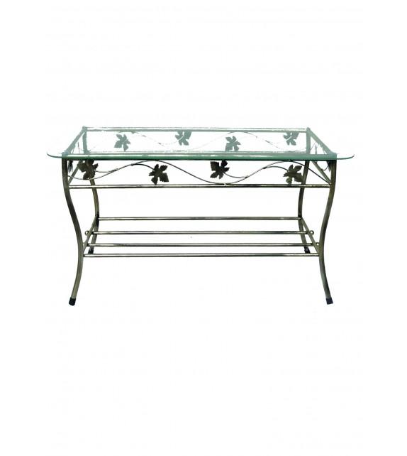 Kovácsoltvas kisasztal M-052