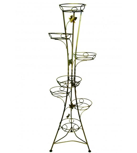 Kovácsoltvas virágtartó 7 W-001