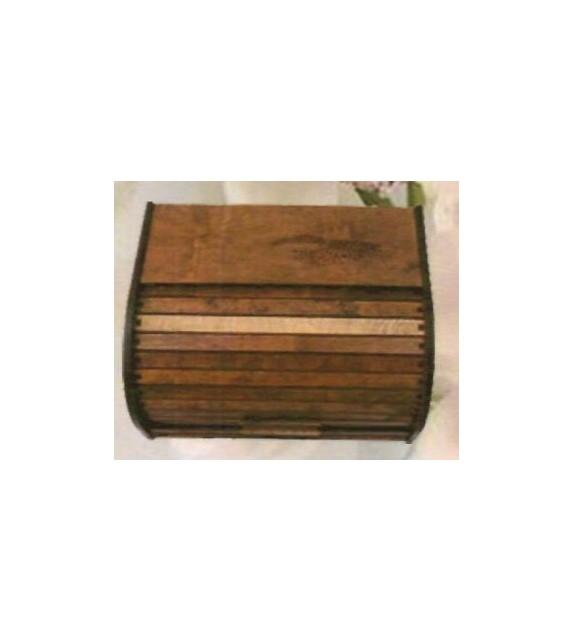 Fa kenyértartó S-003