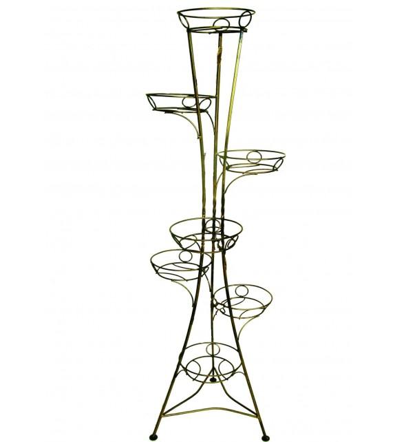 Kovácsoltvas virágtartó 7 W-002